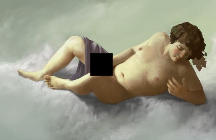 Bacchus delirius, masturbationa - castpixel | ello