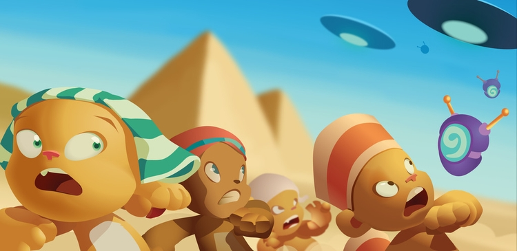 Alien invasion ancient Egypt -  - castpixel | ello