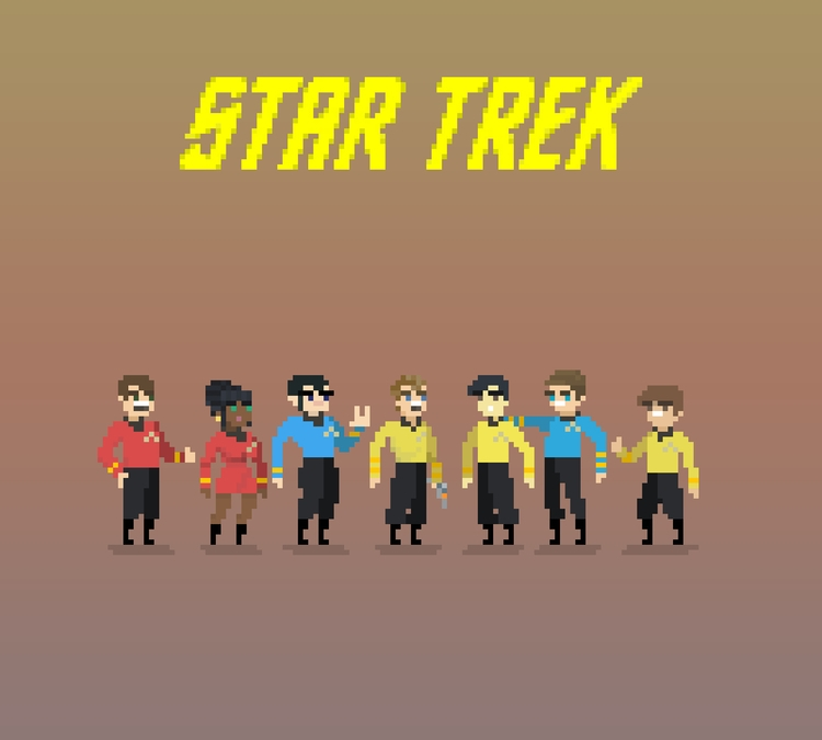 Star Trek Cast - Live Long Pros - planckpixels | ello