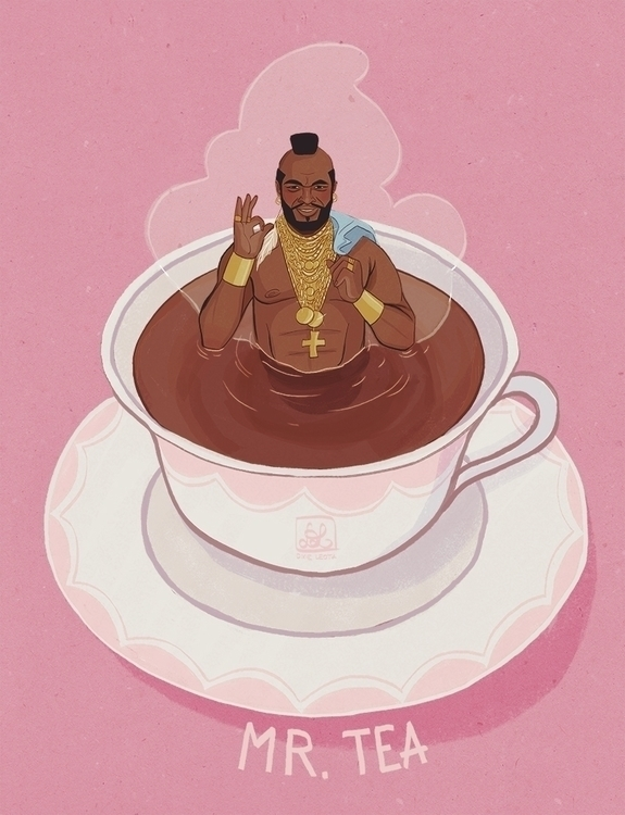 Tea - mrtea, tea, illustration, illustrator - dixieleota | ello