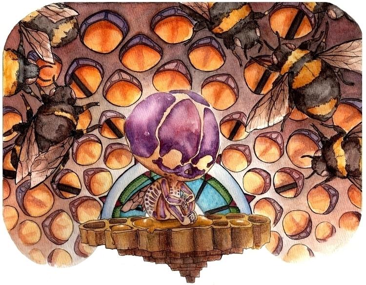 Bee hive bees communicate danci - katpowell | ello