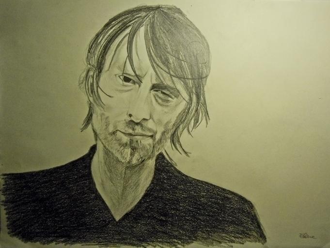 Thom Yorke - thomyorke, radiohead - elenamantovan   ello