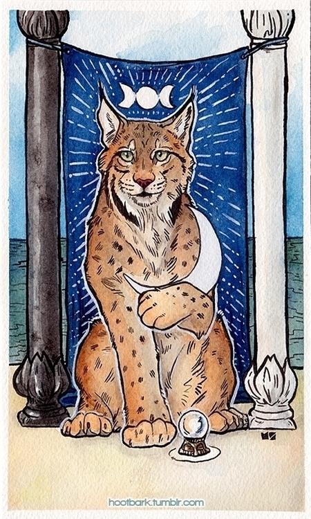 High Priestess - tarot, tarotcard - hootbark-1142 | ello