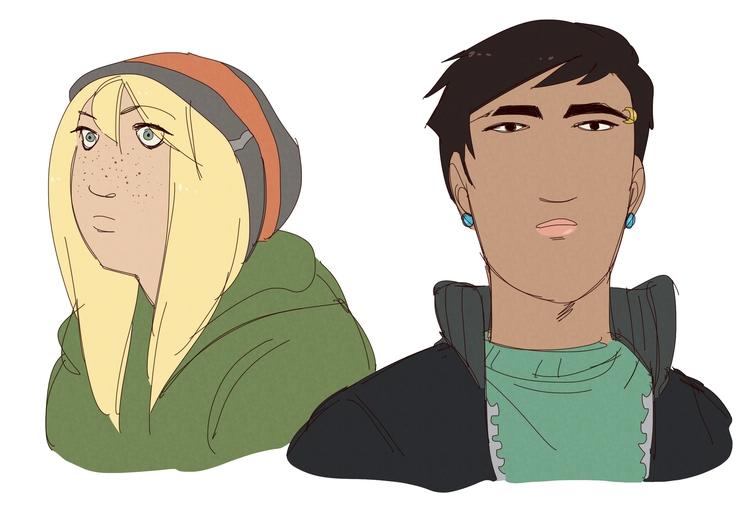character design doodles - originalcharacter - gorillaprutt | ello