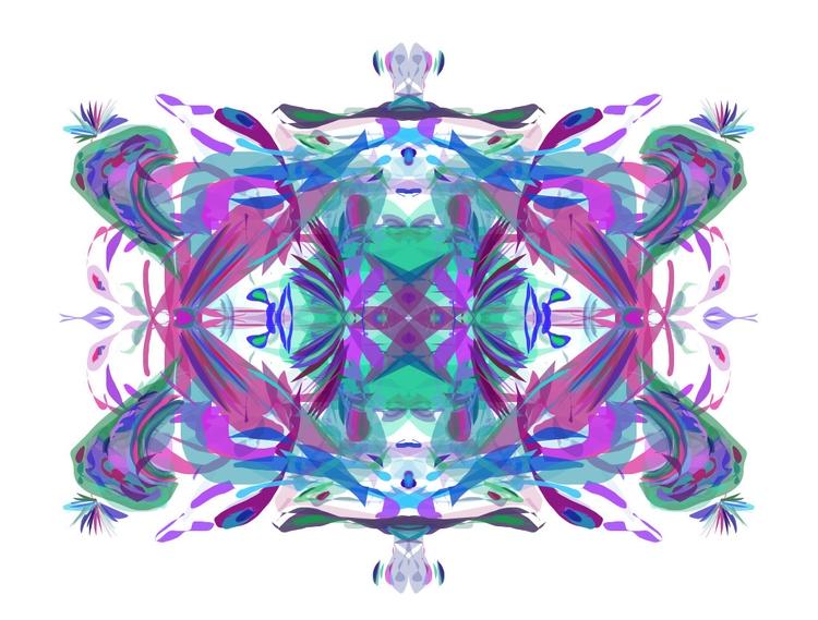 Random kaleidoscope create Alch - snowny | ello