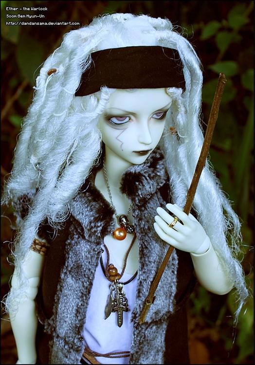 Doll: Ether Head mold / body: S - dandansama | ello