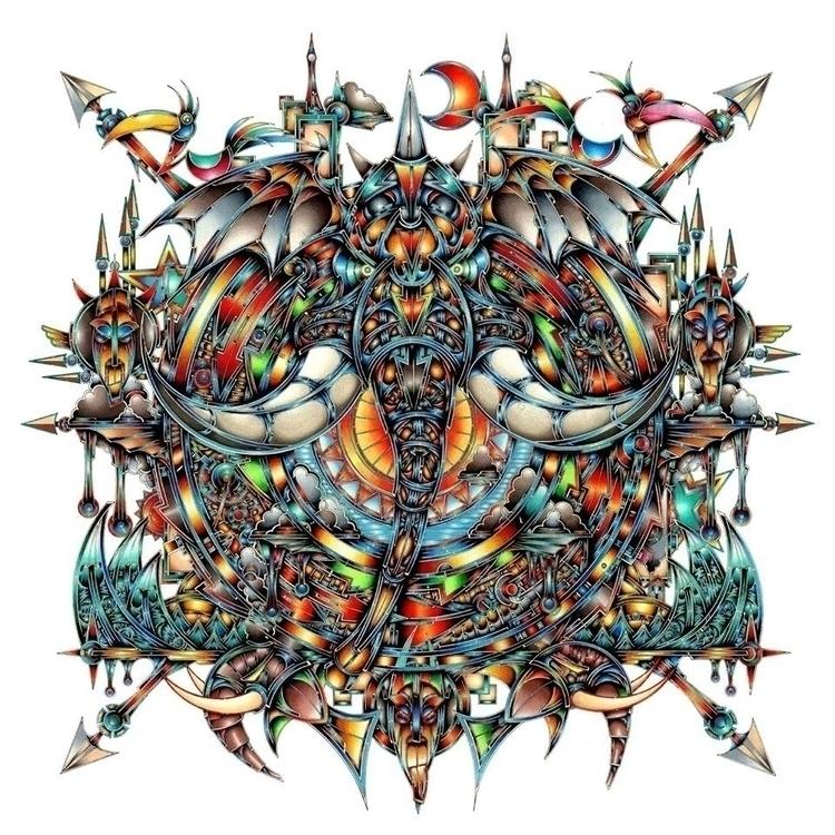 Heavy Revolution. Album cover d - jamielawrence | ello