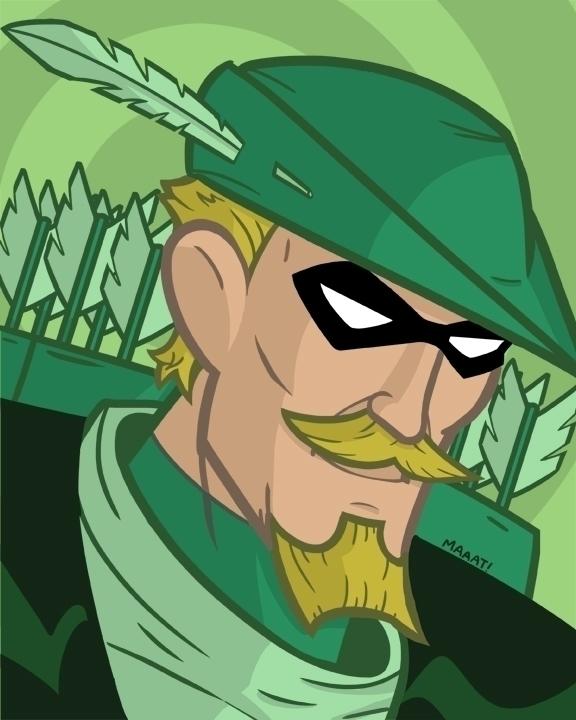 Green Arrow - greenarrow, dccomics - mattyleegross   ello