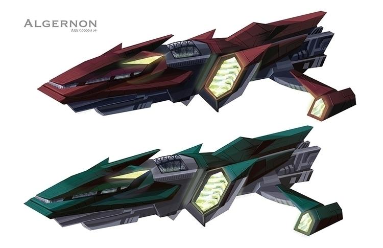 Algernon concept animated comic - anndorphin | ello