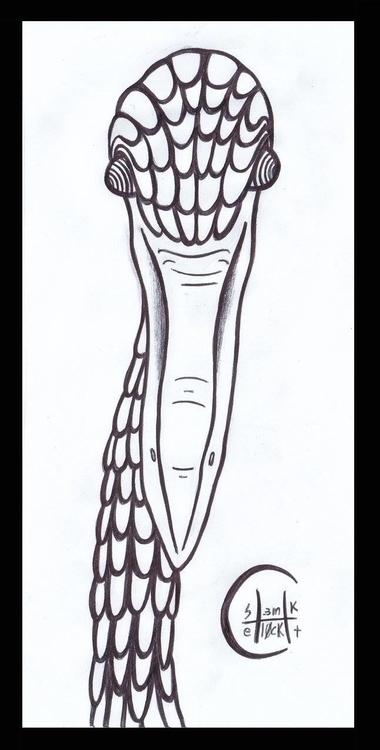 Badass Ibis - badass, ibis, animalillustration - h3ml0ck | ello