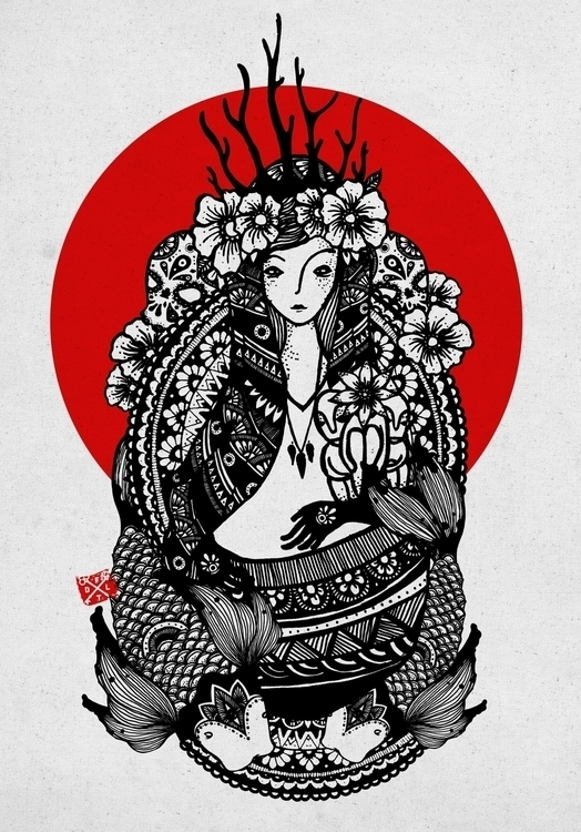 Babaylan (Priestess - illustration - danieltinagan | ello