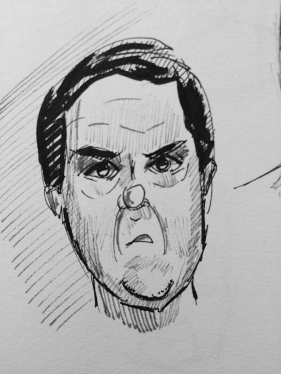 Sketch - illustration, sketchbook - marksolario | ello