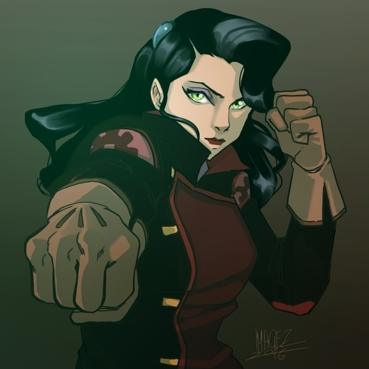 Asami Sato - illustration, digitalart - imagezart | ello