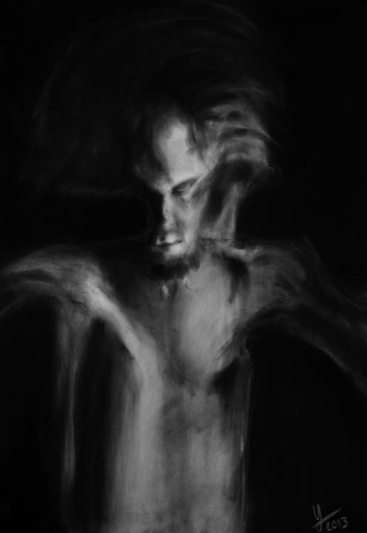 illustration, darkart, drawing - yaizacamps | ello
