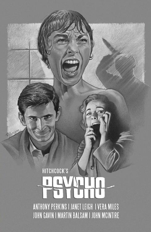 tribute poster Alfred Hitchcock - dwrobins2000 | ello