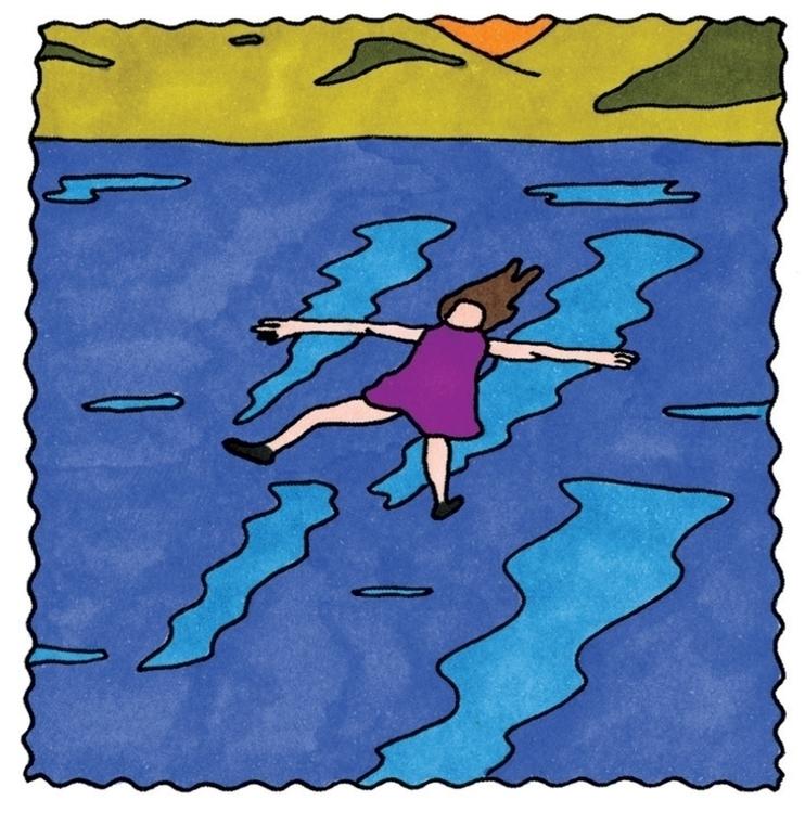 swimming, swim, sea, illustration - ajsazdrav | ello