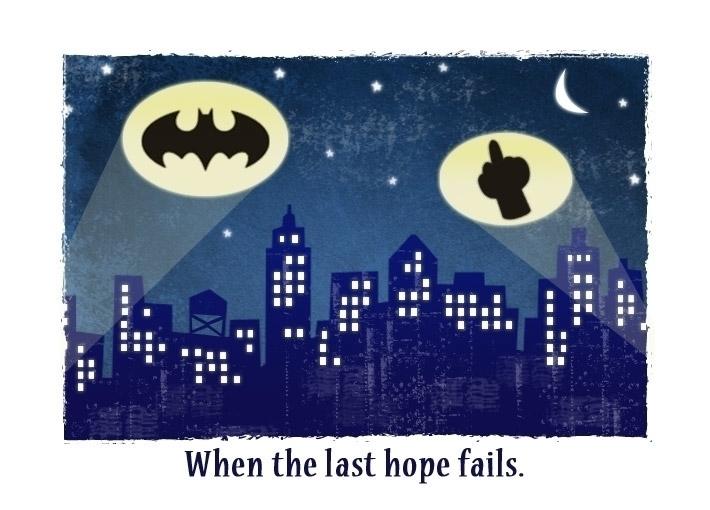 Hard Times - illustration, batman - revo-1513 | ello