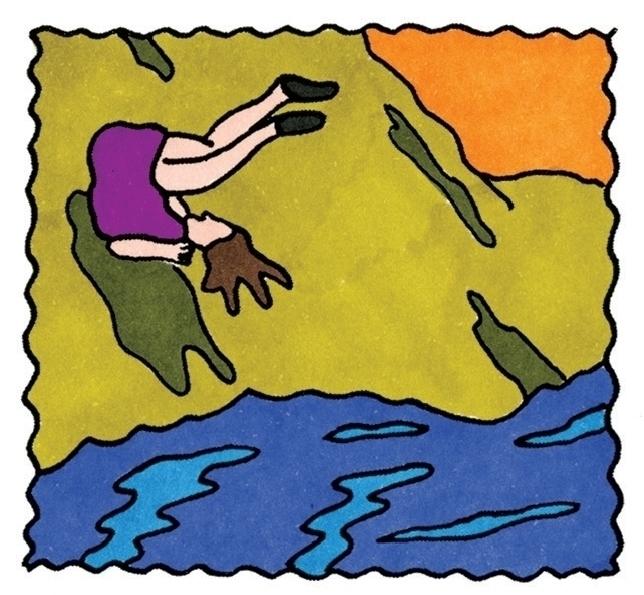 fall, falling, feltpen, handdrawn - ajsazdrav | ello