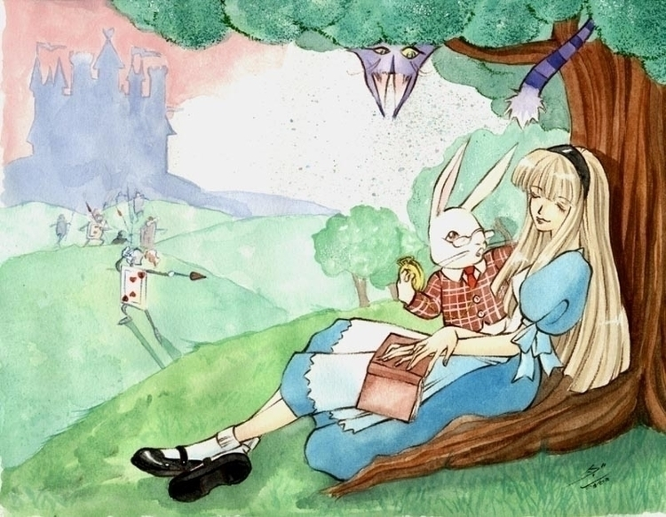 Alice Wonderland - 2003 Waterco - dandansama | ello