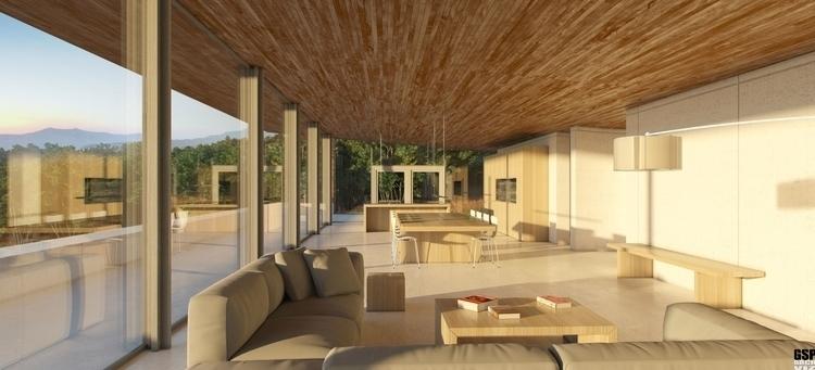 Alon House 3D visualization - architecturalvisualisation - totozoos | ello
