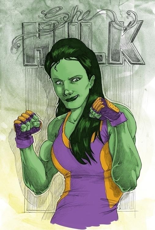 hulk - shehulk, shehulk, green, marvelcomics - daborien | ello