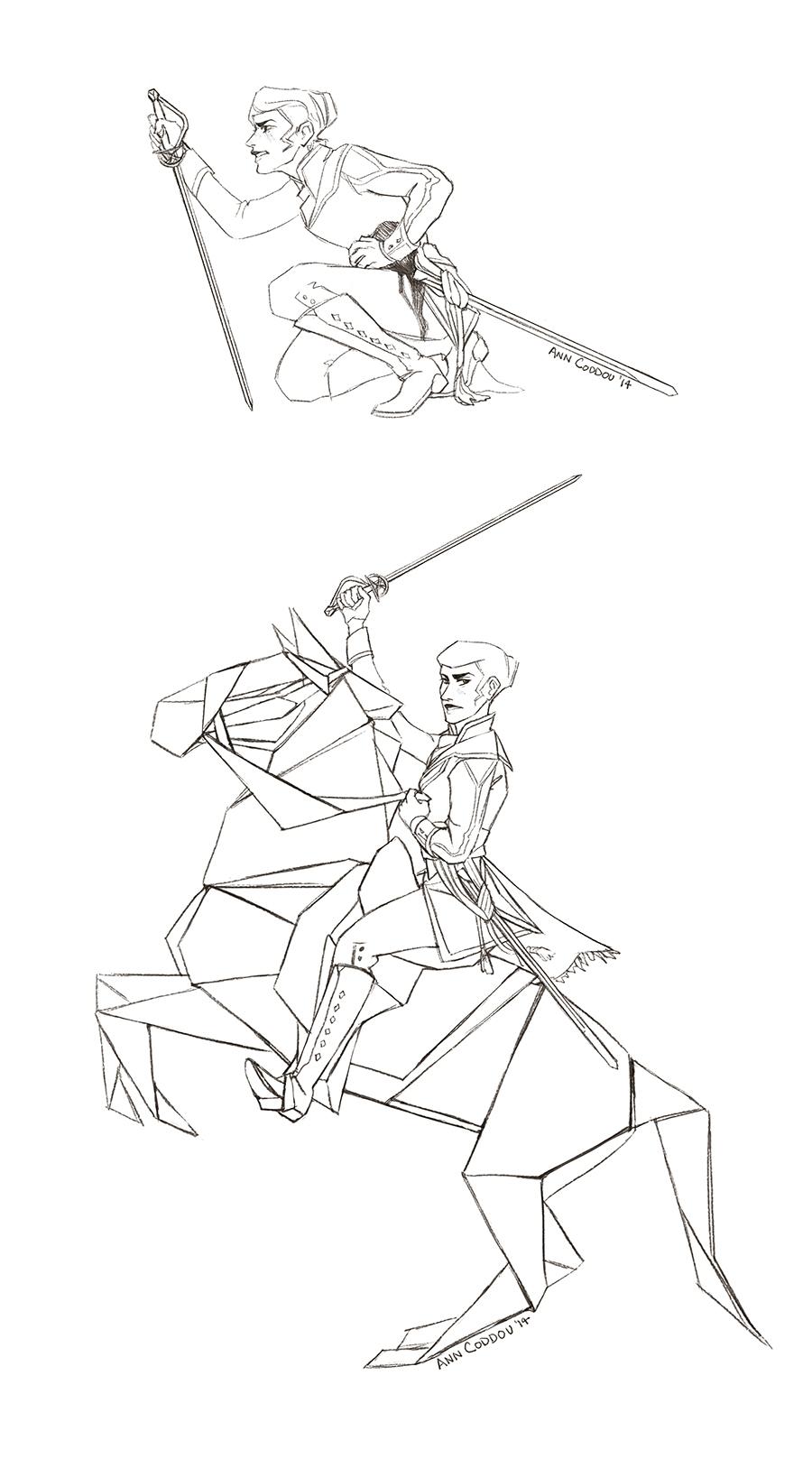 sketches webcomic, Cénit - cenit - anndorphin | ello