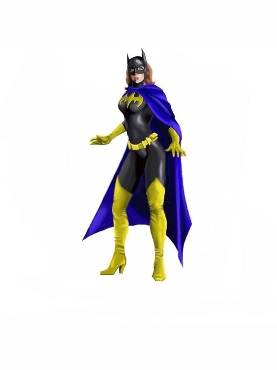 Batgirl - batgirl, dccomics - irkturk | ello