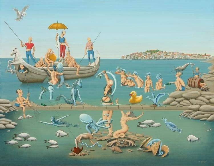 "Title: ""Sea nymphs""- 2013 serie - fritsdang | ello"