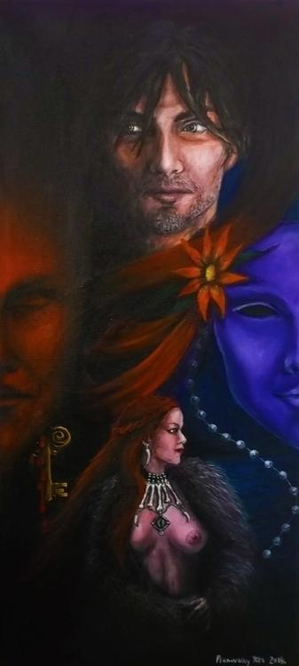 persona -acrylic painting - art - spirita | ello