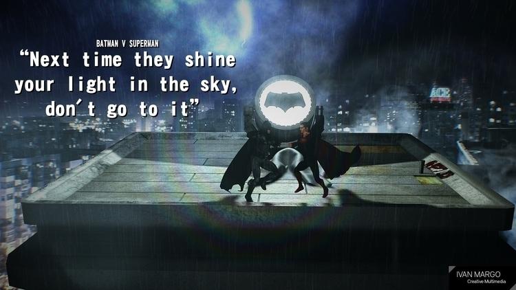 WhoWillWin, batman, superman - ivanmargo | ello
