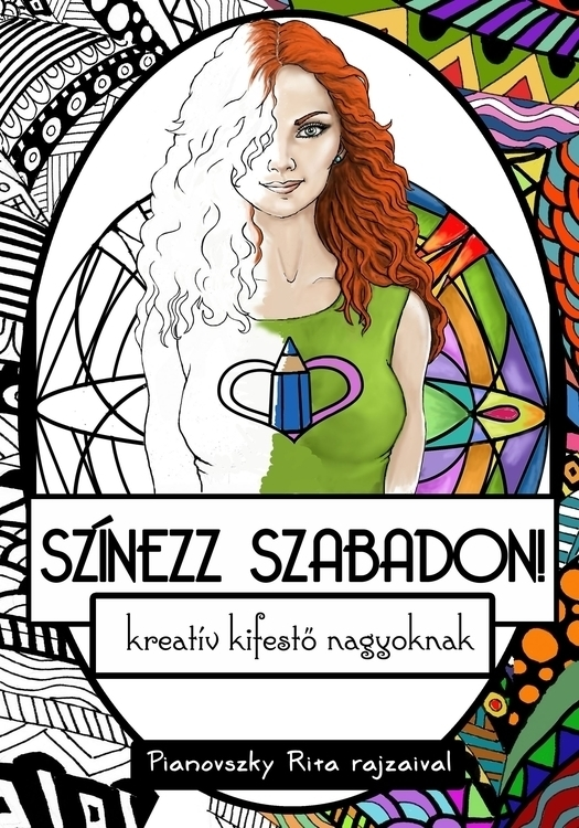 adult coloring book cover - coverart - spirita | ello