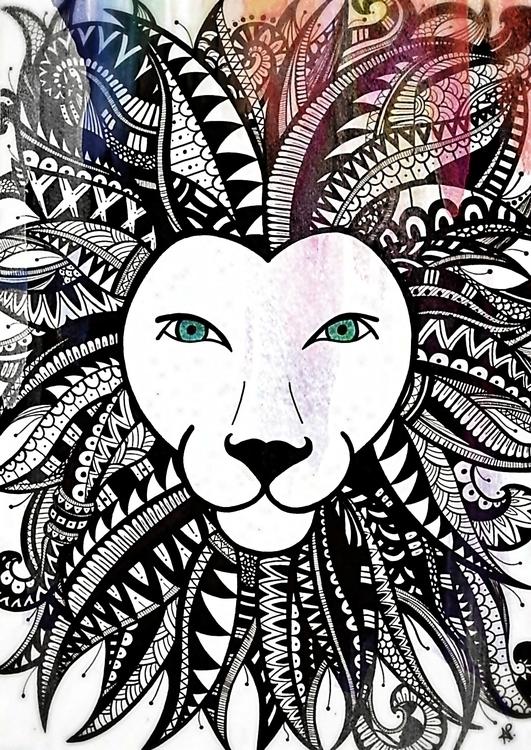 LionKing - handmade, ilustration - angelapatricia | ello