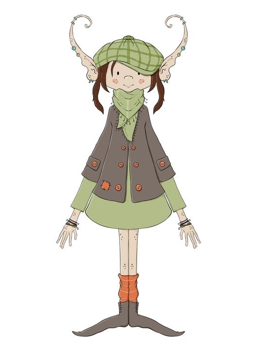 Helga, Nordic Elf main characte - zita-3948 | ello