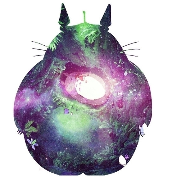 Childhood Dream - totoro, studioghibli - cj_illustrations | ello