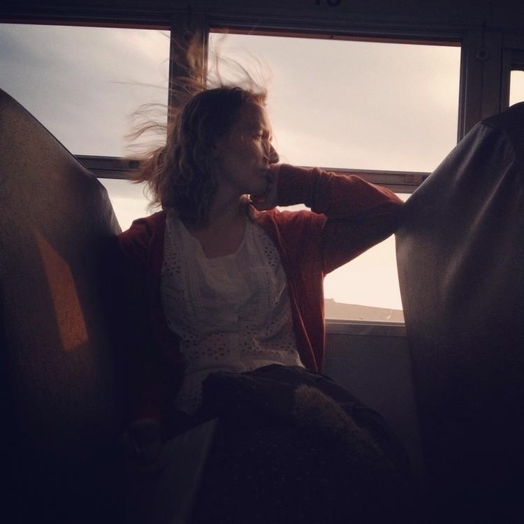 April wind - april, bus, sunset - caronjess | ello