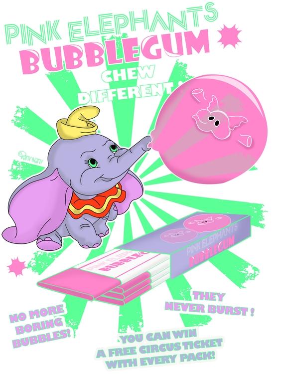 Pink Elephants Design find stor - vanynany | ello