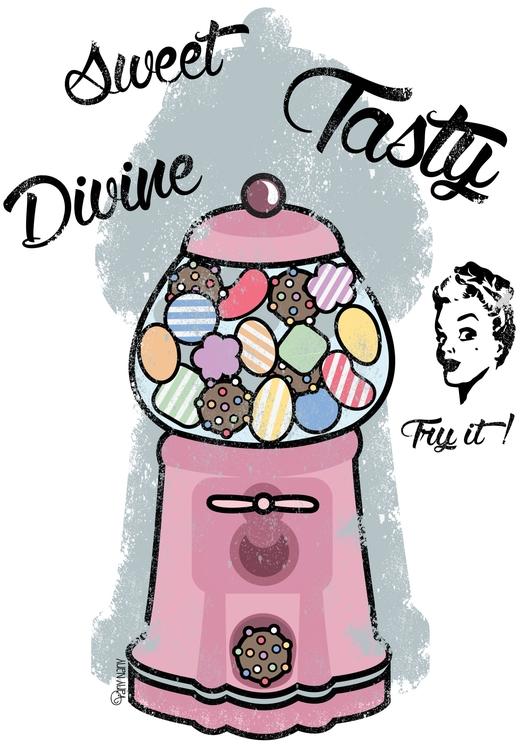 Vintage Candy Machine. find sto - vanynany | ello
