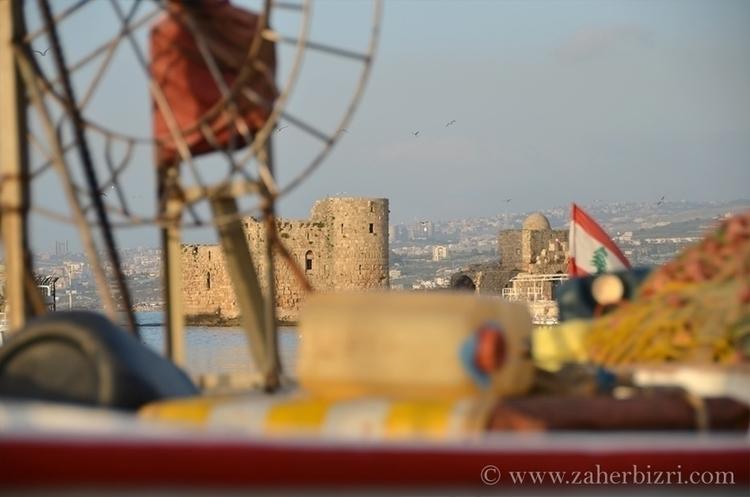 Sea Citadel Saida, Lebanon - photography - zaherbizri | ello