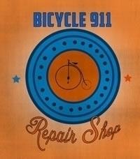 Bicycle 911 logo - vintage - mandidennie | ello