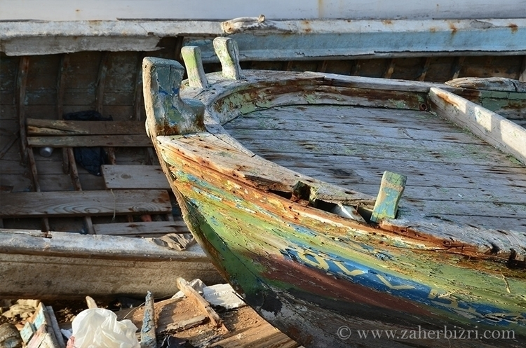 Boat port Saida, South Lebanon - zaherbizri | ello