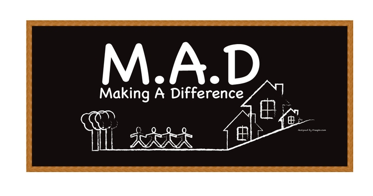 MAD making difference logo - community - mandidennie | ello