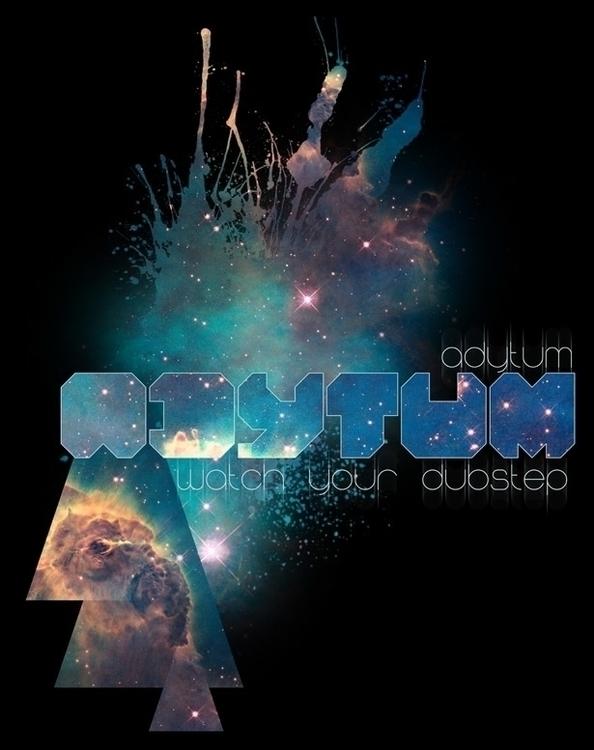 Adytum - space, galaxy, design, graphicdesign - daeforshtay | ello