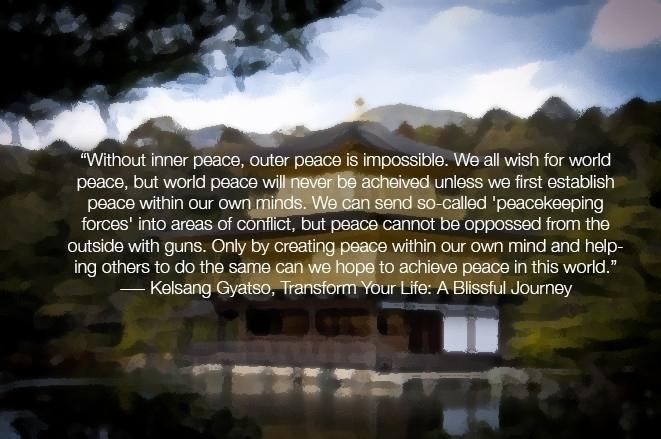 Buddhist quote poster - buddhism - mandidennie | ello