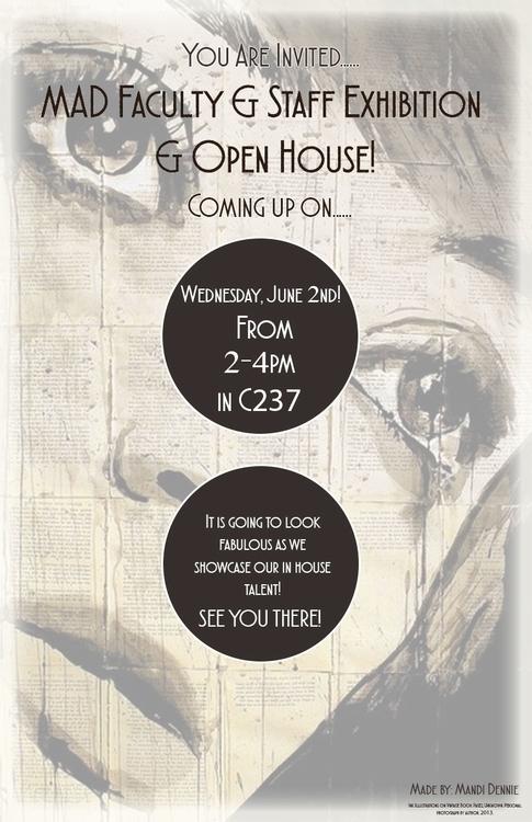 Art Event posters - poster, art - mandidennie | ello