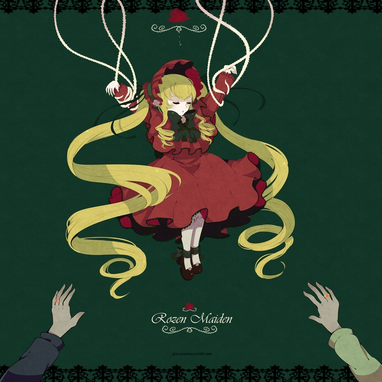 5th doll - rozenmaiden, anime, illustration - princessmisery | ello