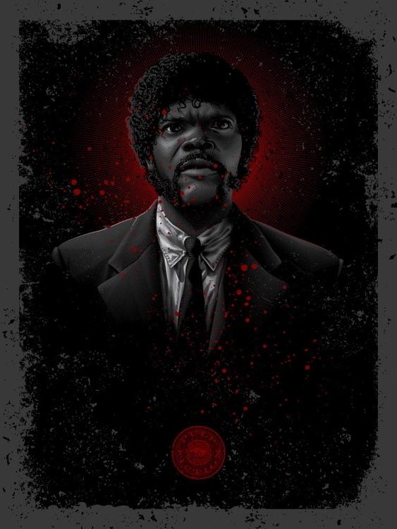 Winnfield, Jules - Tarantino Ti - tracieching | ello