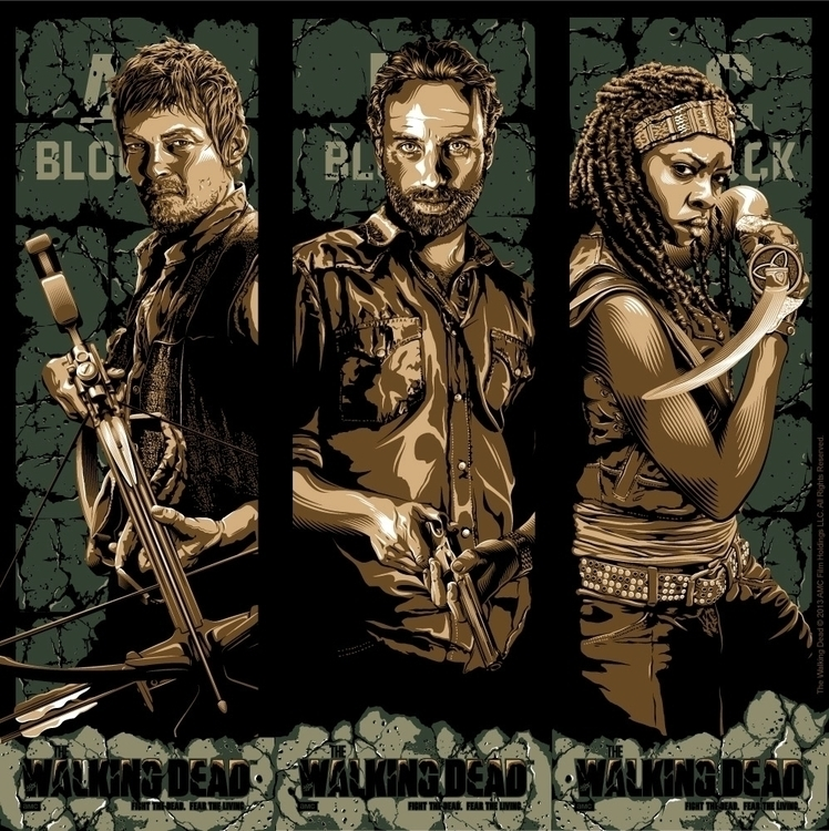 Official Walking Dead Print Ser - tracieching | ello