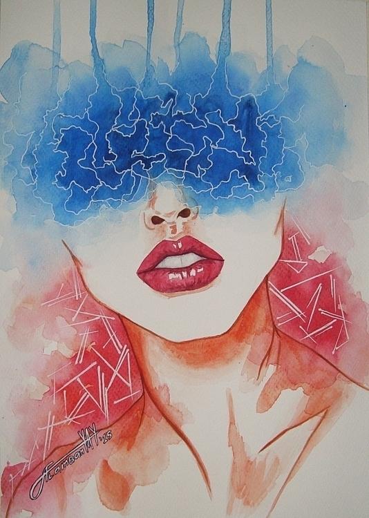 Sentimenti - illustration, painting - thearthobo   ello