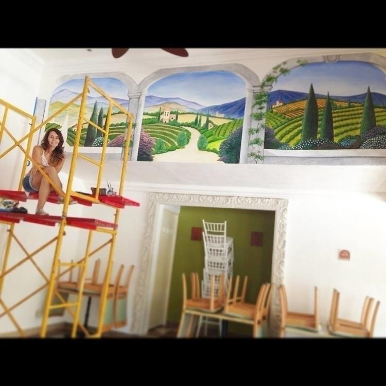 painting italian Restaurant - michellecortazar10 | ello