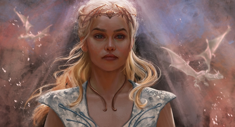 daenerys, daenerystargaryen, gameofthrones - innavjuzhanina | ello